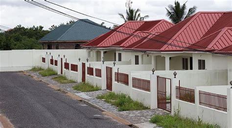 semi detached house plans  zambia