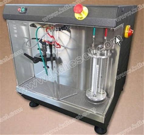 Banc D'essai Injecteur Bosch, Controle Injecteur Common
