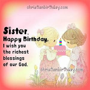 Wishing Happy B... Religious Sister Birthday Quotes
