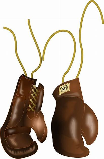 Boxing Glove Gloves Clip Clipart Pair Svg