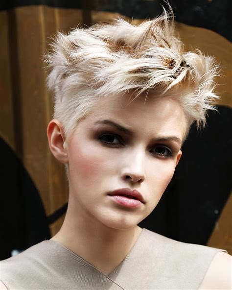 short blonde hairstyle   graffiti collection