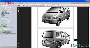 Toyota Hiace S B V Service  U0026 Repair Manual Update 1991