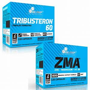Tribusteron60  U0026 Zma 30  240 Strong Testosterone Booster  U0026 Mineral Anabolic Pills