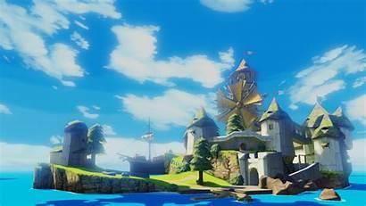 Wind Waker Zelda Legend Background Wallpapers