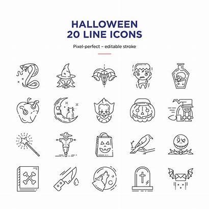 Shutterstock Line Istar Icons Halloween Icon