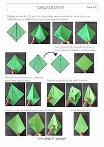 Origami Facile Noel : explication origami sapin ~ Melissatoandfro.com Idées de Décoration