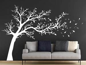 Baum Für Wohnzimmer : wandtattoo gro er baum zweifarbig wandtattoo de ~ Markanthonyermac.com Haus und Dekorationen