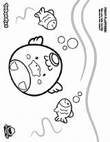 Flappers Fishy Coloring Crayola Fish sketch template