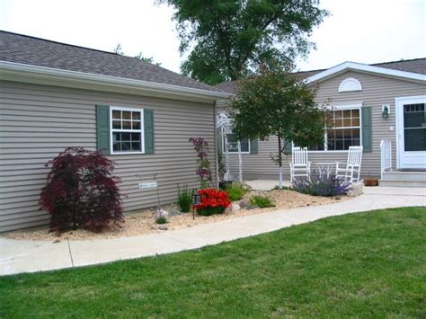 Landscaping Ideas For Mobile Homes  Garden Pinterest