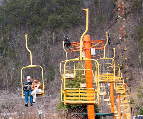 gatlinburg chair lift new walkin around my town william britten photography