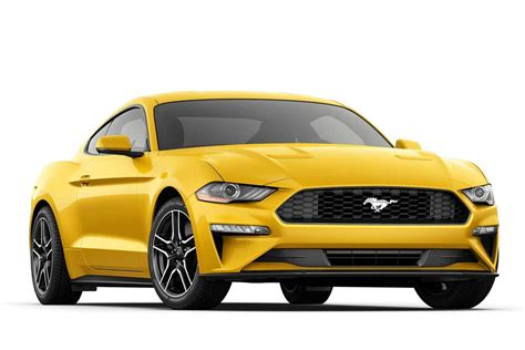 ford mustang ecoboost premium fastback sports car