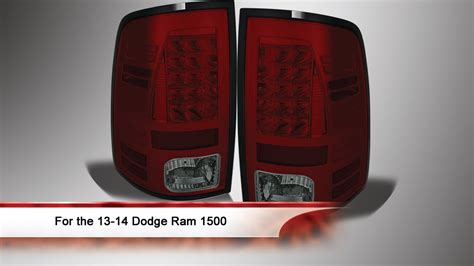 13-14 Dodge Ram 1500/2500/3500 Led Tail Lights