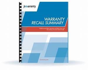Recall Summary    Jlwarranty