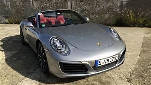 Voiture Sportive 4 Places : essai vid o porsche 911 cabriolet restyl e pleins poumons ~ Medecine-chirurgie-esthetiques.com Avis de Voitures
