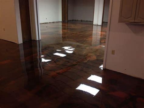 concrete kitchen flooring 17 best ideas about epoxy floor on garage 2428
