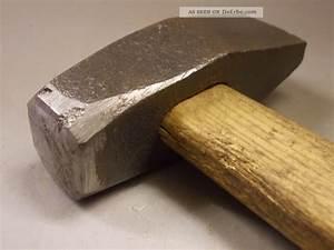 Werkzeug Hammer Typen : alter hammer k ferhammer schmiedehammer formhammer altes werkzeug ~ Markanthonyermac.com Haus und Dekorationen