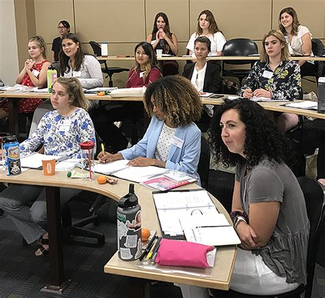 gu hosts leadership summer institute  young women