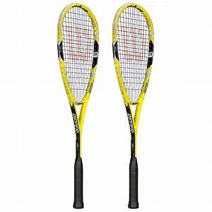 Wilson Ripper Team Squash Racket Double Pack - Sweatband.com
