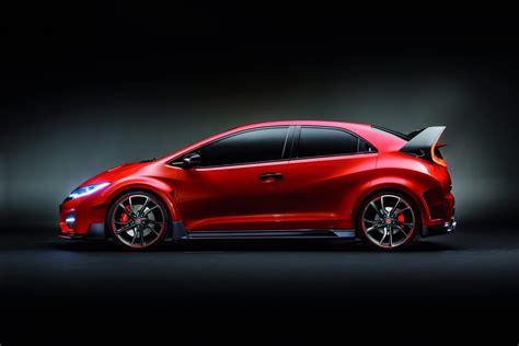 Type R by Honda Says New Civic Type R Concept Is A Racing Car For