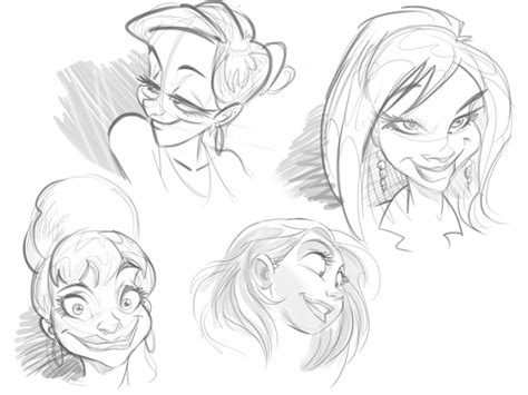 cartoon fundamentals   draw  cartoon face correctly