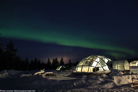 Northern Lights Igloo by Interesting Facts About Finland Just Facts