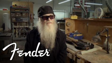 dusty hill   fender custom shop signature precision