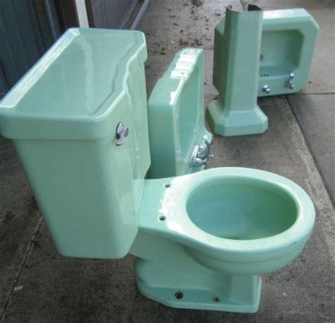 eljer toilet charming green 50s bathroom retro renovation