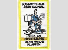 Anti Dortmund Aufnäher Kannst Du mal Fußball Fanshop