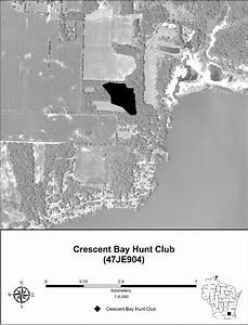 Figure   Location Of The Crescent Bay Hunt Club Site   Je