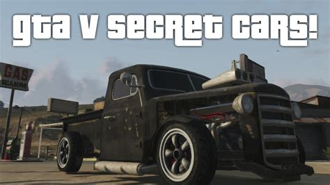 gta  secret cars gta  youtube