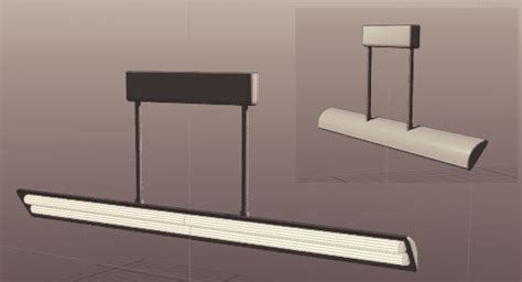 angled ceiling light 3d file by humbertthehorse on