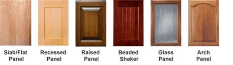 cabinet door construction types types of kitchen cabinets doors roselawnlutheran