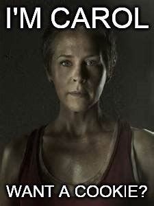Want A Cookie Meme - twd imgflip