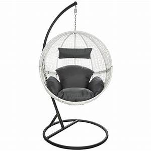 Fauteuil Suspendu Sur Pied : fauteuil suspendu gifi avec chambre fauteuil suspendu ~ Melissatoandfro.com Idées de Décoration