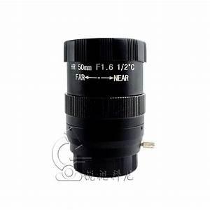Manual Aperture Lens 50mm Manual Focus Cs Camera Lens