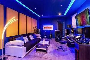 My, Man, Cave, Studio, Gaming, Room, Malelivingspace