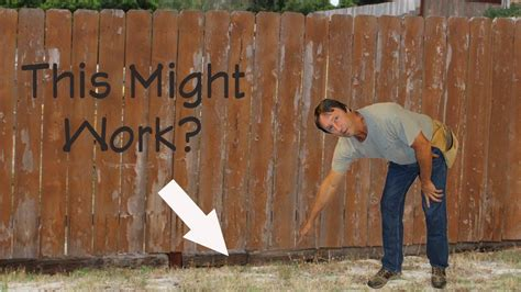 Fill gaps larger than 1/8 inch with a sanded caulk. How To Fill Open Areas Under Wood Fences - Home Repair Tips - YouTube