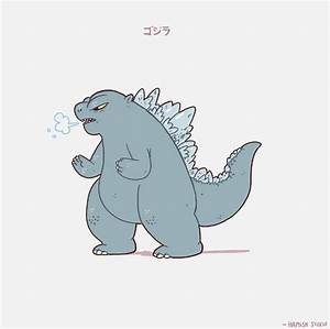 221 best Cute Godzilla images on Pinterest | Monsters, The ...