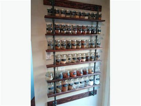 Custom Spice Racks by Custom Built Spice Rack West Shore Langford Colwood