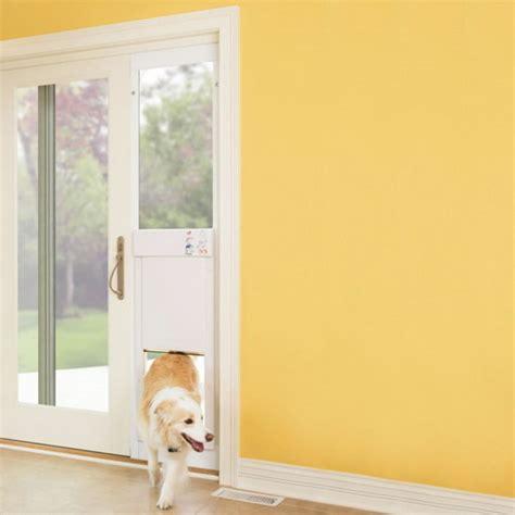 sliding glass door doggie door 25 benefits of doors for sliding glass doors