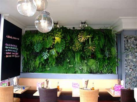 mur de plante interieur mur v 233 g 233 tal int 233 rieur pour un restaurant de brieuc en bretagne dehors