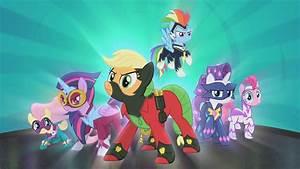 My Little Pony Bettwäsche : my little pony power ponies show intro youtube ~ Watch28wear.com Haus und Dekorationen
