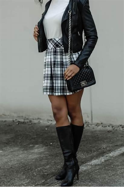 Plaid Skirt Wear Ways Three Trend Grunge