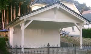 Satteldach Carport & Holzgaragen Als Individueller Bausatz