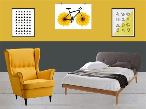 chambre jaune et gris idées et inspiration déco clem