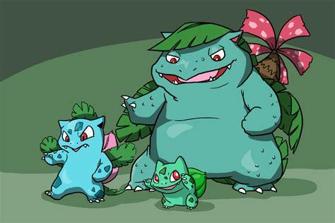 The Bulbasaur Family By Zerochan923600 On Deviantart