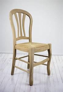 Chaise Chene Massif : chaise hugo en ch ne massif de style louis philippe finition ch ne bross naturel meuble en ~ Teatrodelosmanantiales.com Idées de Décoration