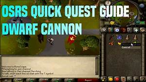 Osrs Quick Quest Guide Dwarf Cannon 8 26