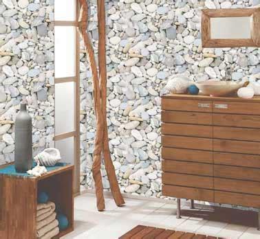 galet salle de bain castorama papier peint salle de bain vinyle motif galet castorama