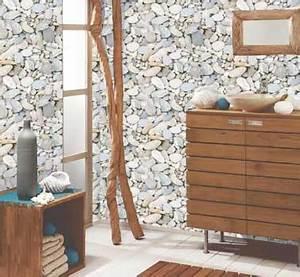 Papier Peint Salle De Bain : papier peint salle de bain sp cial douche et murs ~ Dailycaller-alerts.com Idées de Décoration